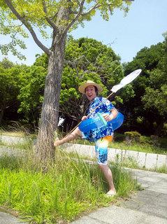 永田の夏、節電の夏
